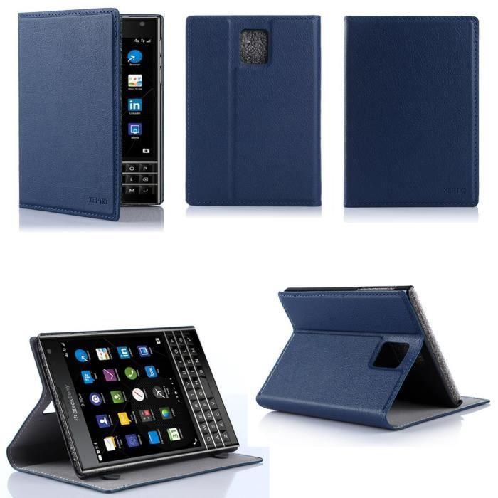 etui coque blackberry passport bleu housse achat housse tui pas cher avis et meilleur. Black Bedroom Furniture Sets. Home Design Ideas