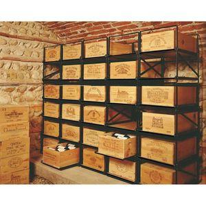 caisse bois bouteille achat vente caisse bois bouteille pas cher cdiscount. Black Bedroom Furniture Sets. Home Design Ideas
