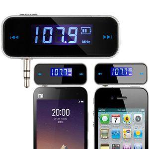 TRANSMETTEUR FM Mini sans fil émetteur 3.5 mm en voiture musique A