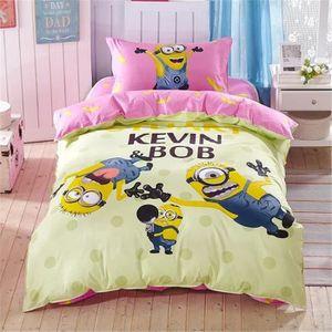 parure de lit enfant coton achat vente parure de lit enfant coton pas cher cdiscount. Black Bedroom Furniture Sets. Home Design Ideas