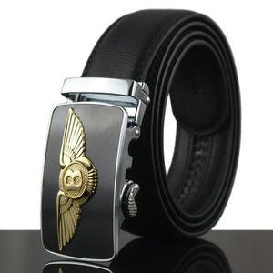 luxe homme ceinture en cuir metal de boucle automa f127f04933c