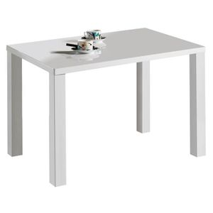 Table a manger 140 x80 achat vente table a manger 140 for Table 140x80