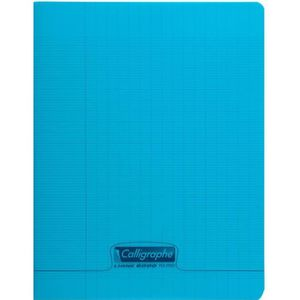 CAHIER CLAIREFONTAINE Calligraphe Cahier Piqué Polypro Bl