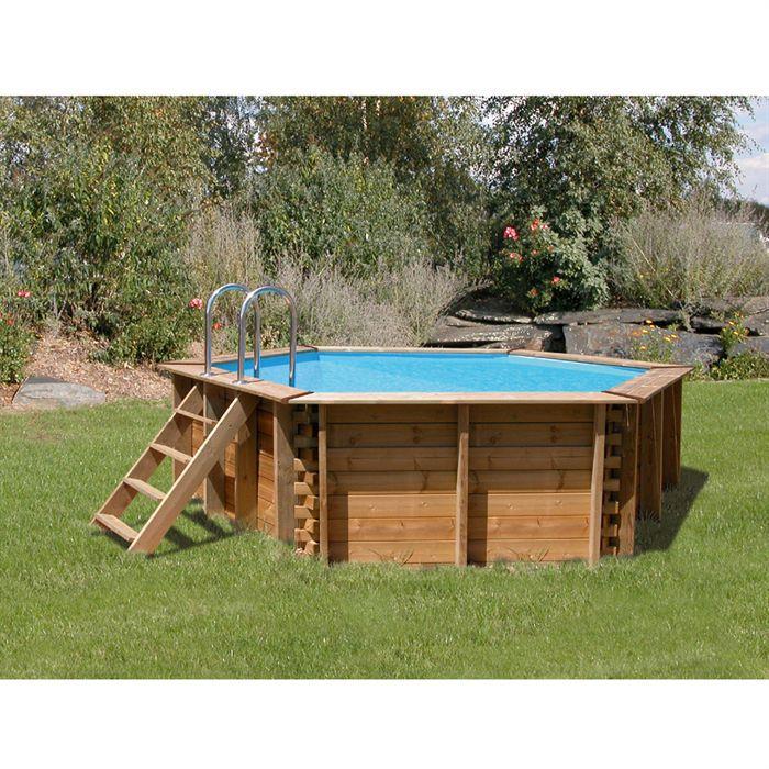 Sunbay piscine bois corsica achat vente kit for Achat piscine bois