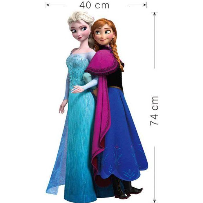 Stickers reines des neiges achat vente stickers reines - Anna reines des neiges ...