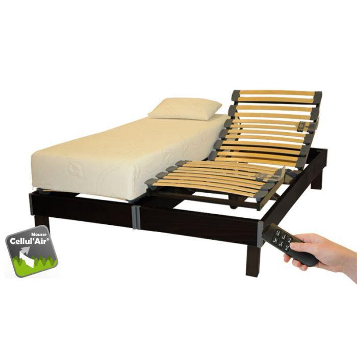 literie electrique 2x80x200 chamonix thonon wengue achat vente ensemble literie cdiscount. Black Bedroom Furniture Sets. Home Design Ideas