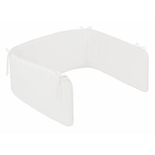 julius z llner 82500 40100 tour de lit basic blanc achat vente tour de lit b b. Black Bedroom Furniture Sets. Home Design Ideas