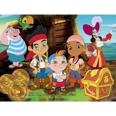 Puzzle 2 x 20 pi ces jake et les pirates du p achat - Jake et les pirates ...