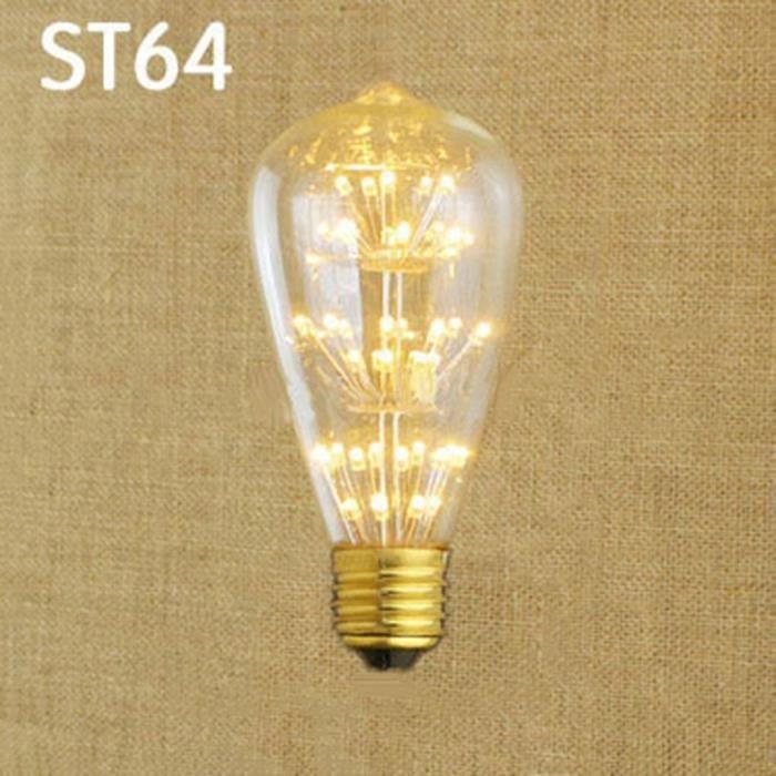 aluminium edison ampoule lumi re chaude led ampoules 220v longue dur e de vie ampoules decora. Black Bedroom Furniture Sets. Home Design Ideas