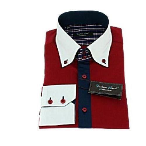 chemise homme rouge et blanche. Black Bedroom Furniture Sets. Home Design Ideas