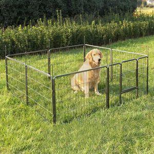 parc enclos pour chien achat vente parc enclos pour chien pas cher les soldes sur. Black Bedroom Furniture Sets. Home Design Ideas