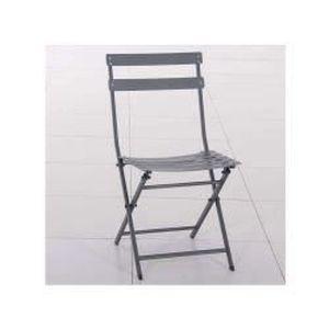 Chaise pliante metal achat vente chaise pliante metal pas cher cdiscount - Chaise de jardin metal pliante ...