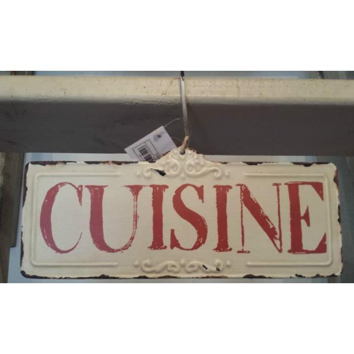 Plaque cuisine style vintage achat vente objet Objet cuisine retro