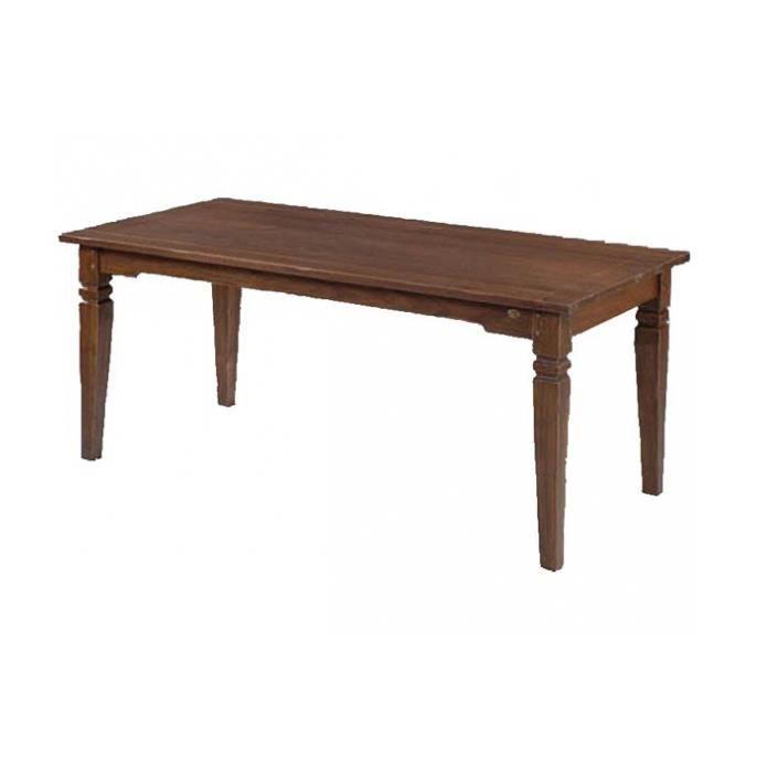 Table de salle manger l 39 acacia 160x90x77 cm achat for Table de salle a manger 2 main