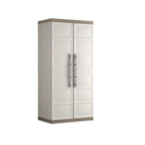 Magnifique armoire de rangement hercules beige taupe achat vente armoir - Cdiscount armoire de rangement ...