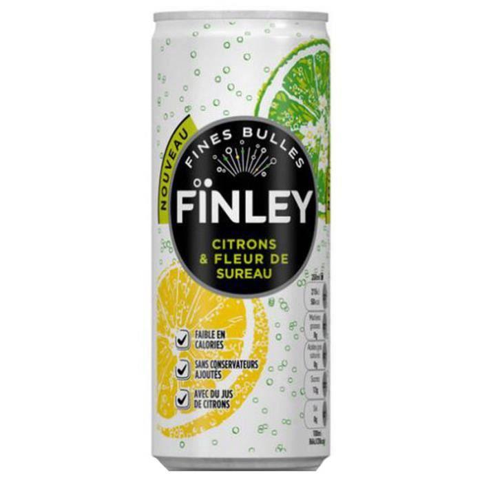 finley citron fleur de sureau 25cl pack de 6 achat vente boisson fruit l gume finley. Black Bedroom Furniture Sets. Home Design Ideas