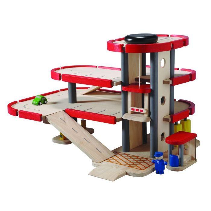 jouet garage en bois occasion