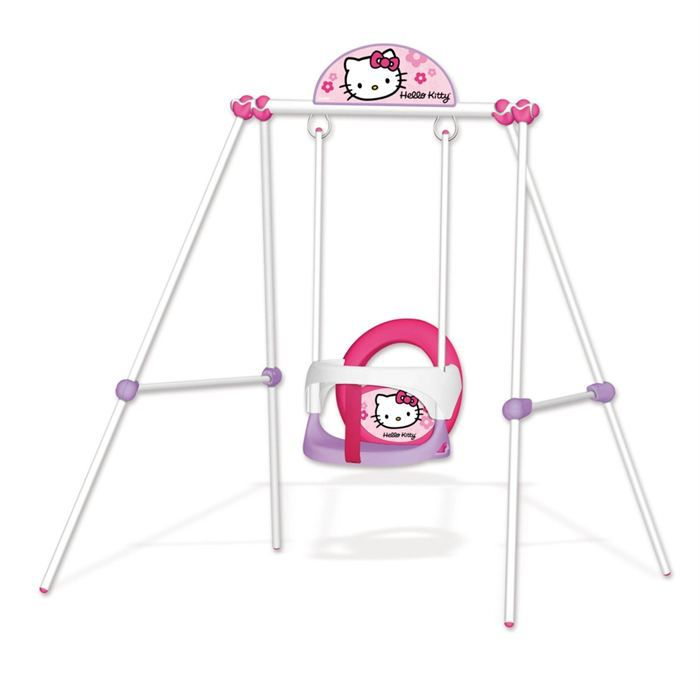 portique m tal baby swing hello kitty achat vente balan oire portique portique m tal baby. Black Bedroom Furniture Sets. Home Design Ideas