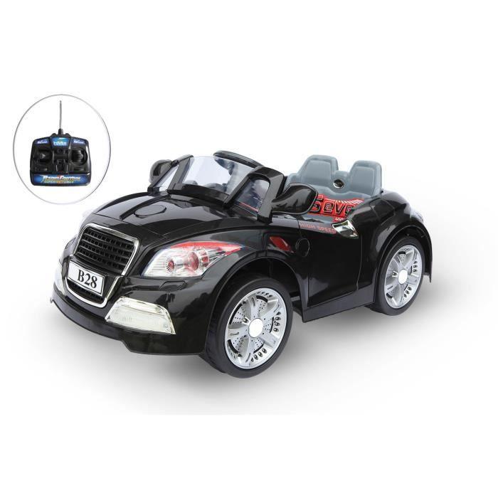 voiture lectrique 12v avec t l commande bmw noire achat vente voiture construire cdiscount. Black Bedroom Furniture Sets. Home Design Ideas
