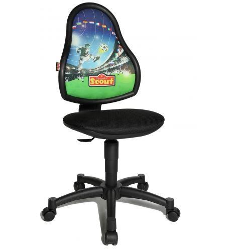 si ge de bureau enfant topstar si ge pivotant achat vente chaise de bureau noir cdiscount. Black Bedroom Furniture Sets. Home Design Ideas