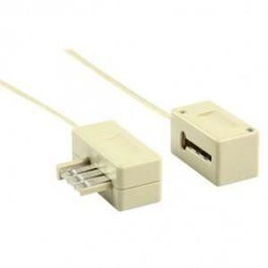 cable rallonge telephone 10m prix pas cher les soldes sur cdiscount cdiscount. Black Bedroom Furniture Sets. Home Design Ideas