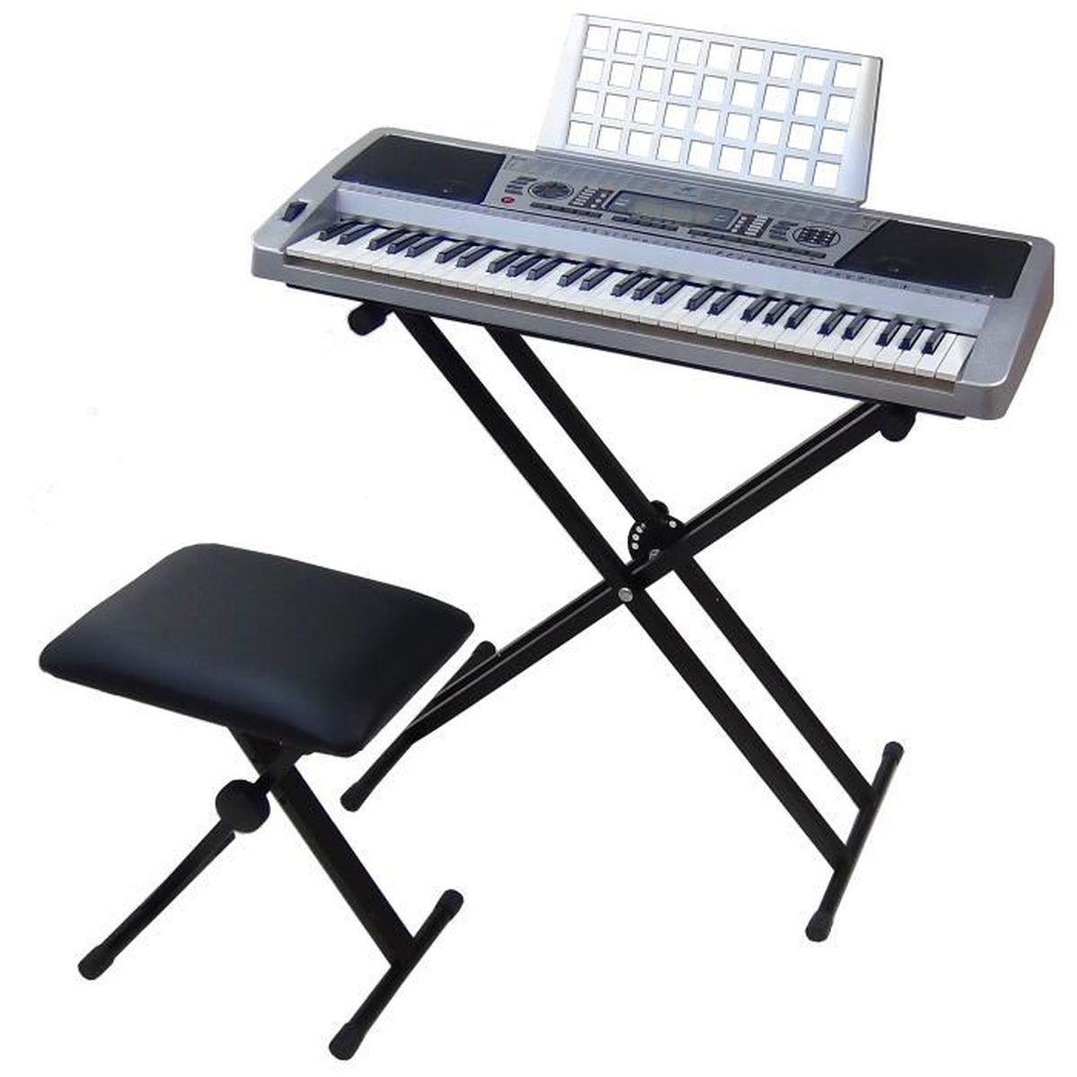 clavier dynasun mk939 midi lcd 61 touches pitch bend performance professional type fonction avec. Black Bedroom Furniture Sets. Home Design Ideas