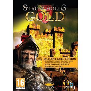 JEU PC STRONGHOLD GOLD EDITION / Jeu PC
