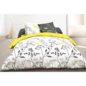couette 220x240 grise achat vente couette 220x240 grise pas cher soldes d t cdiscount. Black Bedroom Furniture Sets. Home Design Ideas