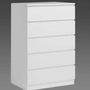Commode 5 tiroirs blanc achat vente commode 5 tiroirs blanc pas cher cd - Commode 5 tiroirs blanc ...