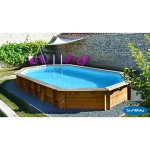 Piscine bois hors sol 10 x 5 m achat vente piscine for Piscine hors sol kit enterree pas cher