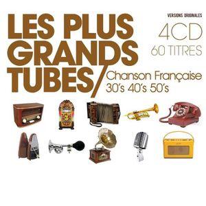 CD VARIÉTÉ FRANÇAISE Les plus grands tubes : Chanson française année…