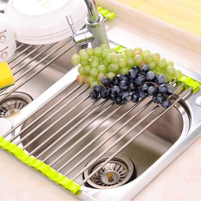 Cuisine pliable vier s choir plat fruit l gume drainer for Cuisine pliable