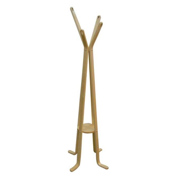 Java porte manteau 4 branches beige achat vente porte manteau cdiscount for Porte manteau branche