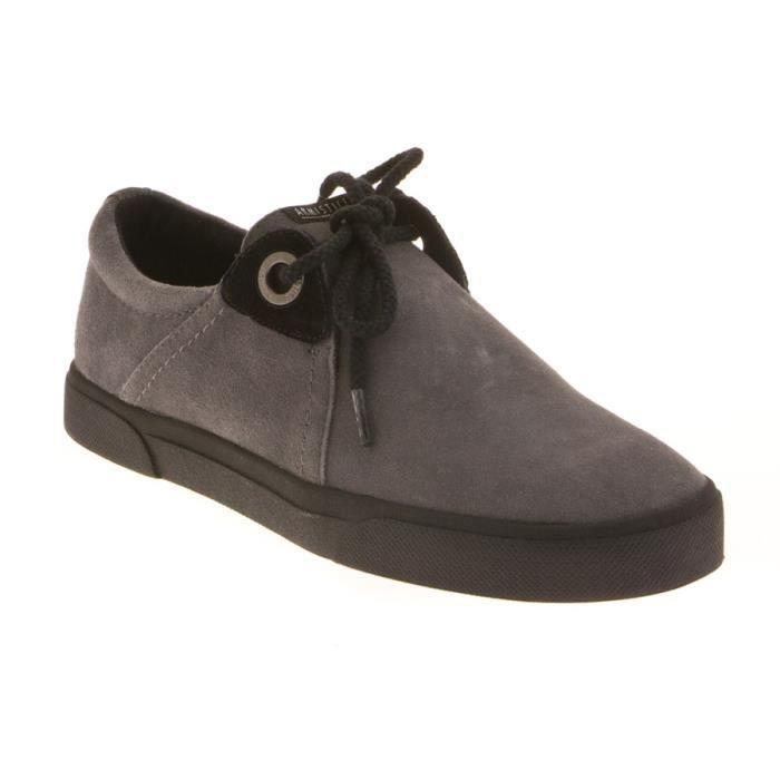 Chaussure armistice hope one en daim gris gris achat - Laver chaussure en daim ...