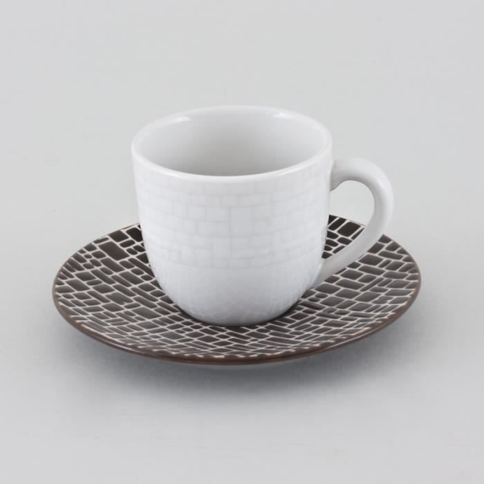 table passion tasse cafe soucoupe cotton l achat vente service th caf cdiscount. Black Bedroom Furniture Sets. Home Design Ideas