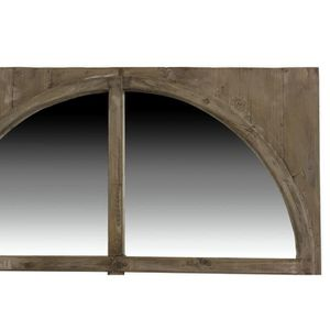 miroir bois rond achat vente miroir bois rond pas cher cdiscount. Black Bedroom Furniture Sets. Home Design Ideas