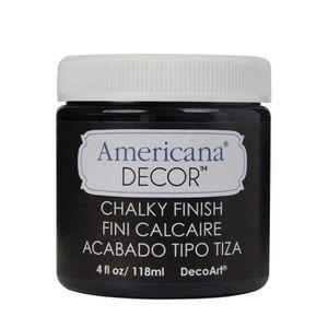 AUTRES PEINTURES AMERICANA Effet craie Carbon 118 ml