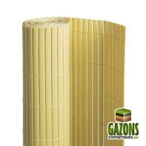 canisse pvc imitation bambou