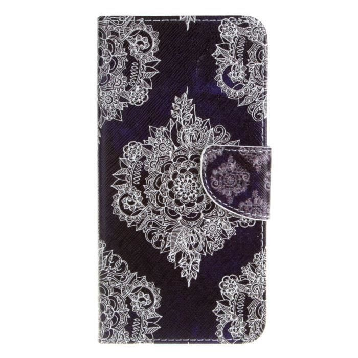 Pour wiko lenny 2 2015 housse tui coque motif tribal pu for Housse wiko lenny 2