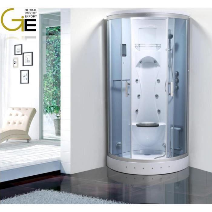 Cabine de douche hydromassante biancospino achat vente - Cabine de douche cdiscount ...