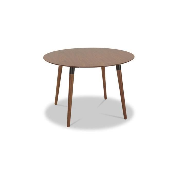 Table manger ronde style scandinave bois achat for Table a manger ronde bois