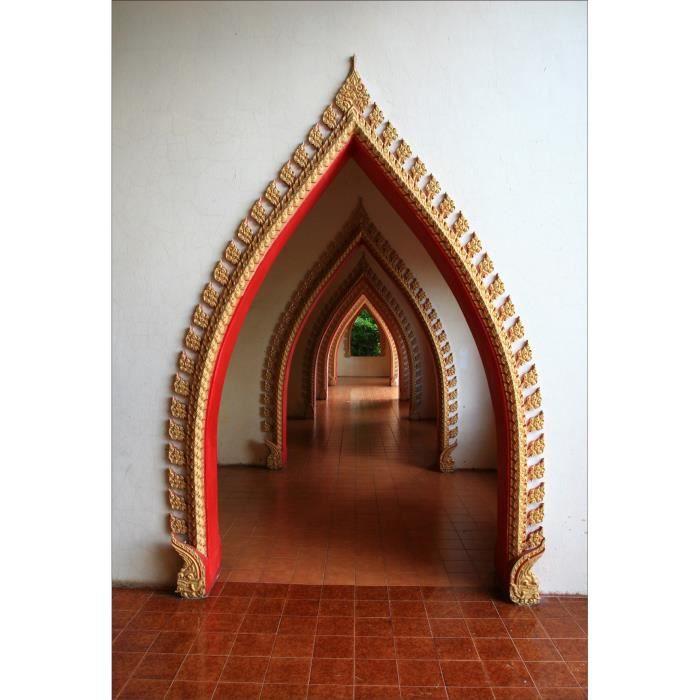 Stickers muraux d co couloir oriental dimensions - Stickers couloir maison ...