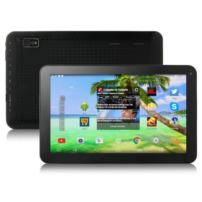 Tablette tactile 10 android 4 4 kitkat bluetooth prix - Tablette android pas cher ...