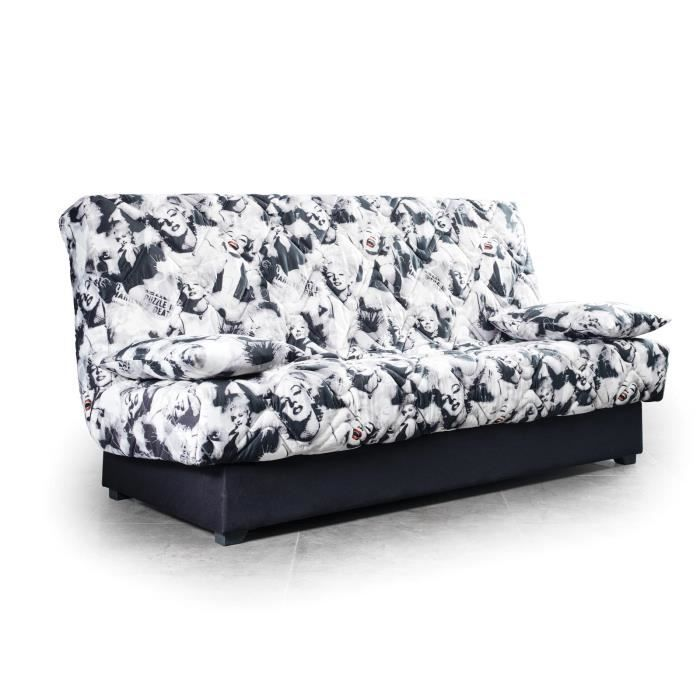 Canap convertible design marilyn achat vente canap for Canape convertible tres confortable