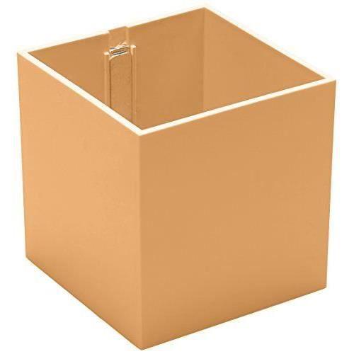 kalamitica pot en forme de cube aimant abricot achat. Black Bedroom Furniture Sets. Home Design Ideas