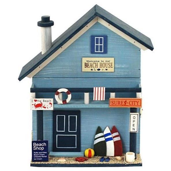 porte cl murale maison plage 29 cm achat vente porte. Black Bedroom Furniture Sets. Home Design Ideas