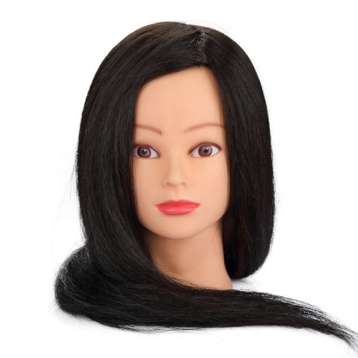 tete a coiffer professionnel cheveux naturels achat vente tete a coiffer professionnel. Black Bedroom Furniture Sets. Home Design Ideas