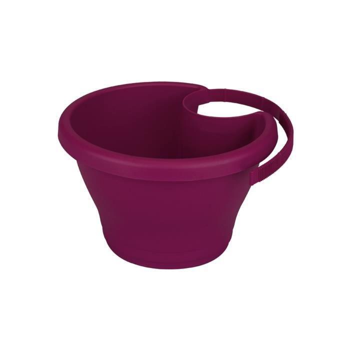 pot de fleurs elho corsica pot pour goutti re 2 achat vente jardini re pot fleur pot de. Black Bedroom Furniture Sets. Home Design Ideas