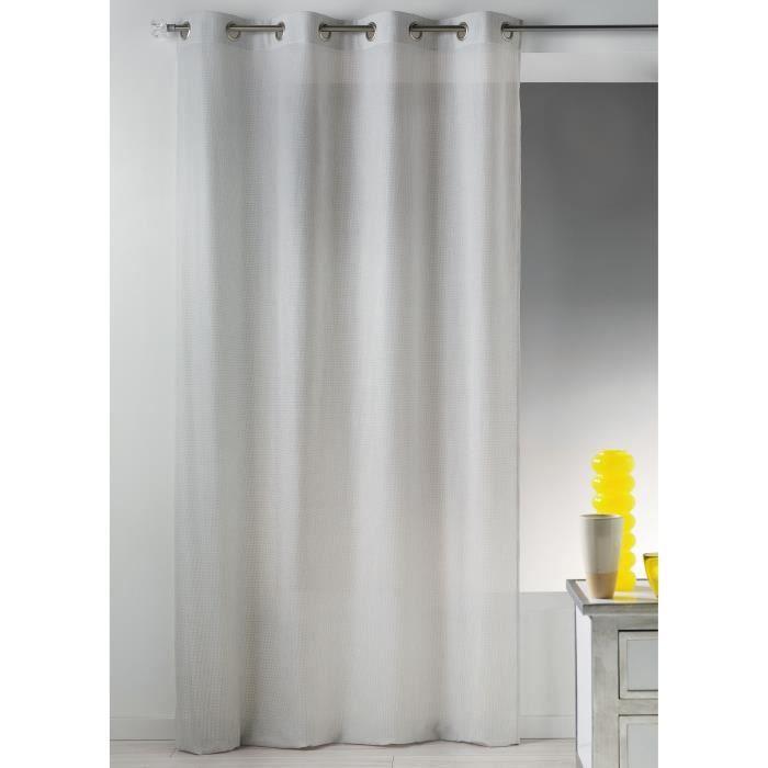 rideau anti ondes en toile unie non feu naturel 140 x 240 cm achat vente rideau cdiscount. Black Bedroom Furniture Sets. Home Design Ideas