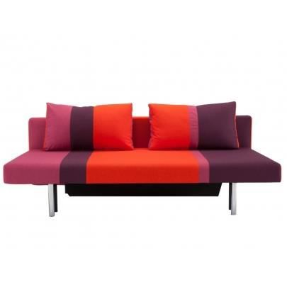 canap clic clac tissu vitta de la marque innovati achat vente clic clac tissu 100. Black Bedroom Furniture Sets. Home Design Ideas